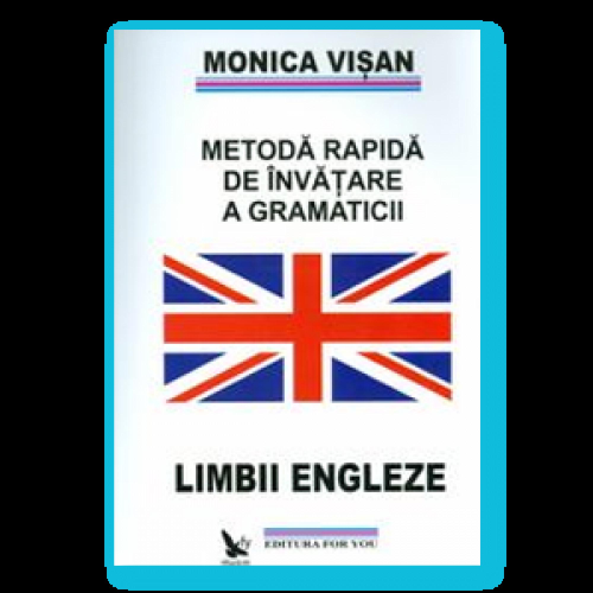 Metodă rapidă de învățare a gramaticii limbii engleze - 3 volume