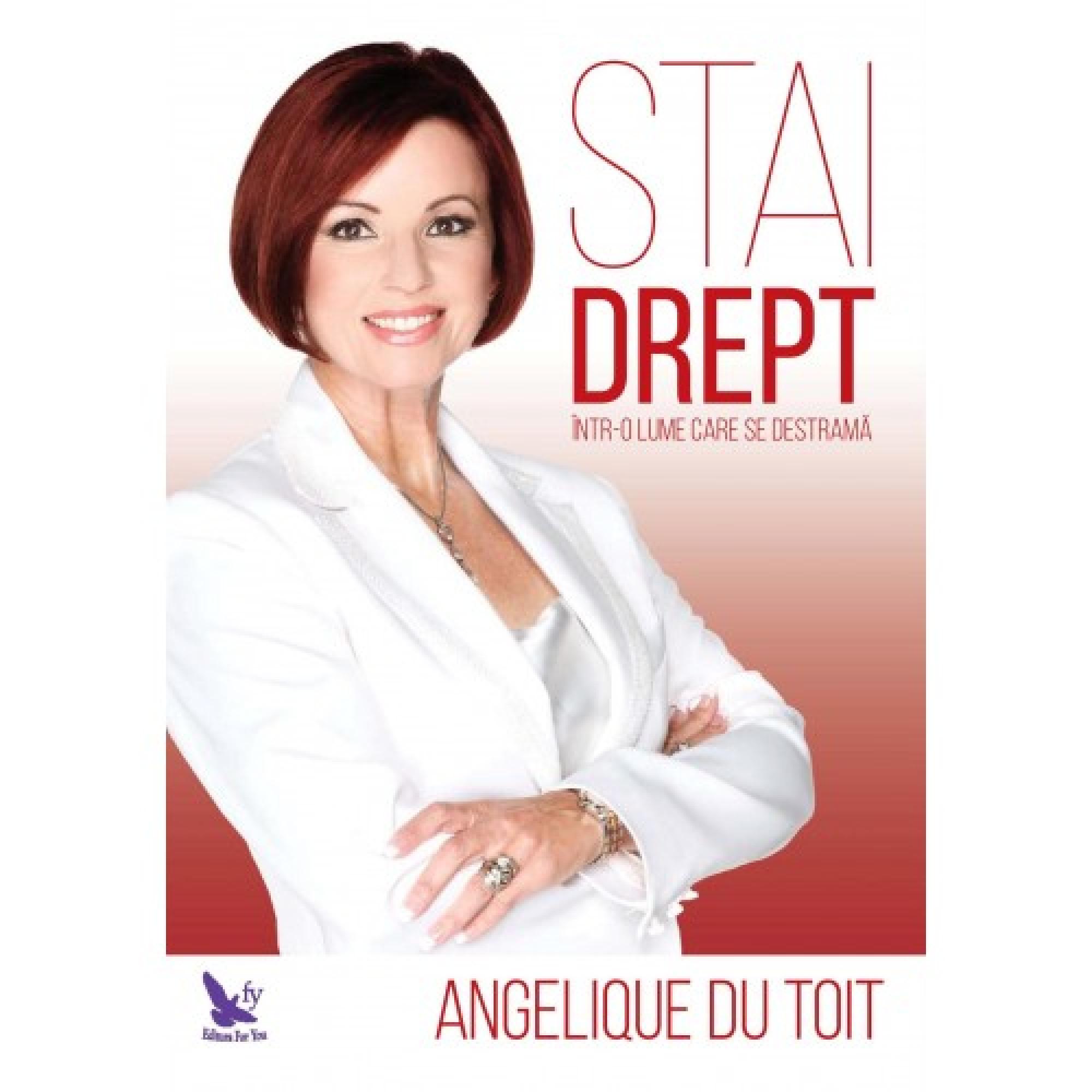 Stai drept într-o lume care se destramă; Angelique du Toit