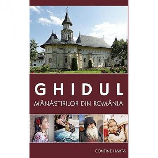 Coperta Carte Ghidul manastirilor din Romania