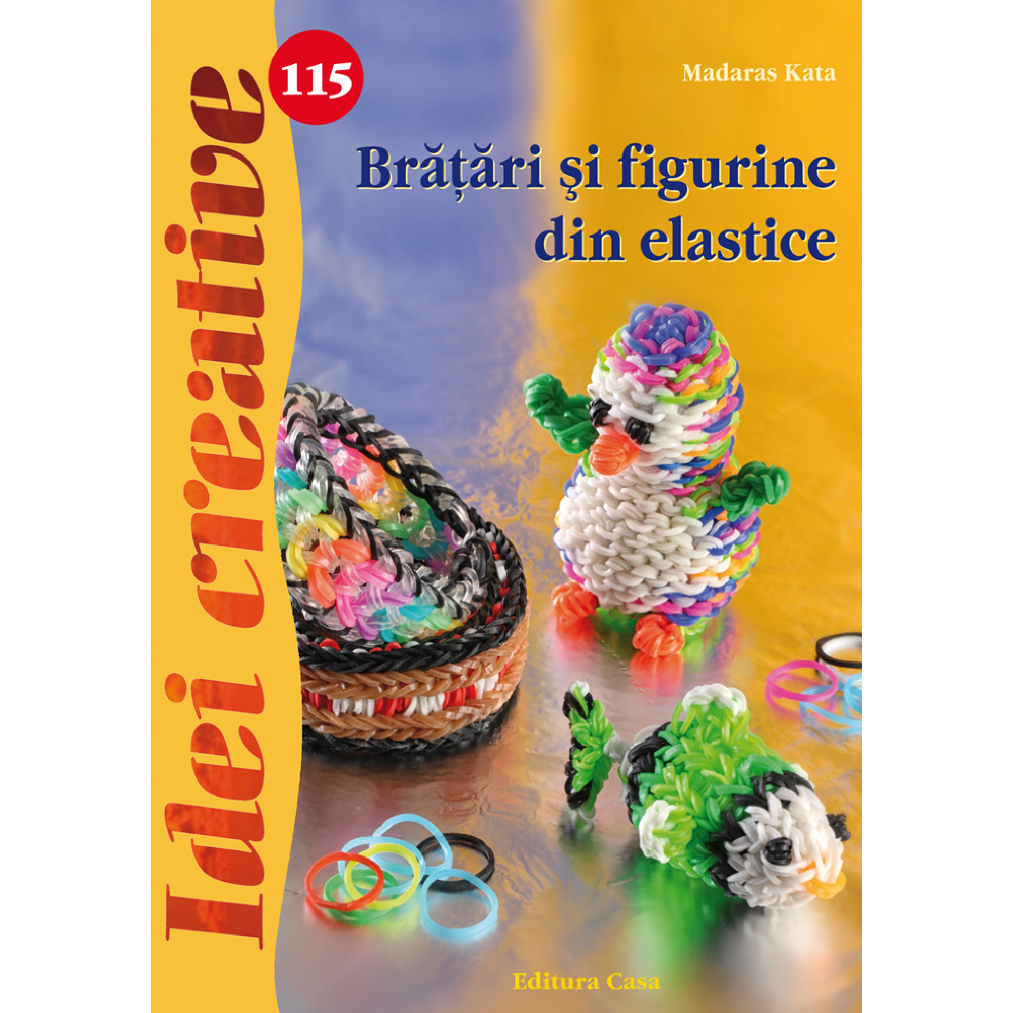 Brăţări şi figurine din elastice - Idei creative 115