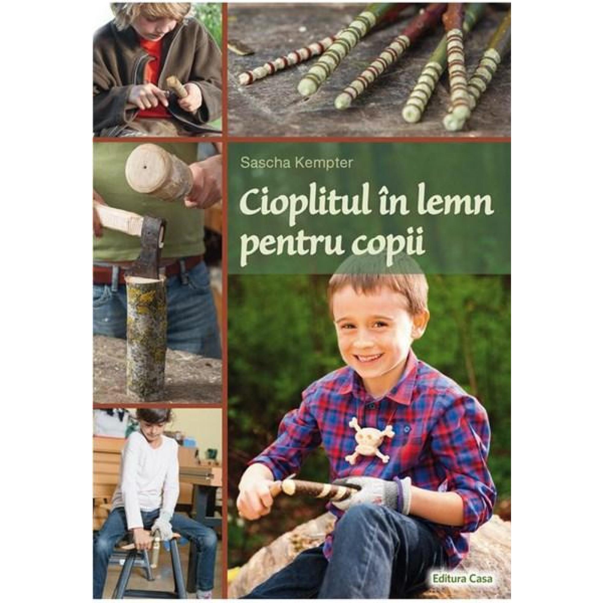 Cioplitul în lemn pentru copii