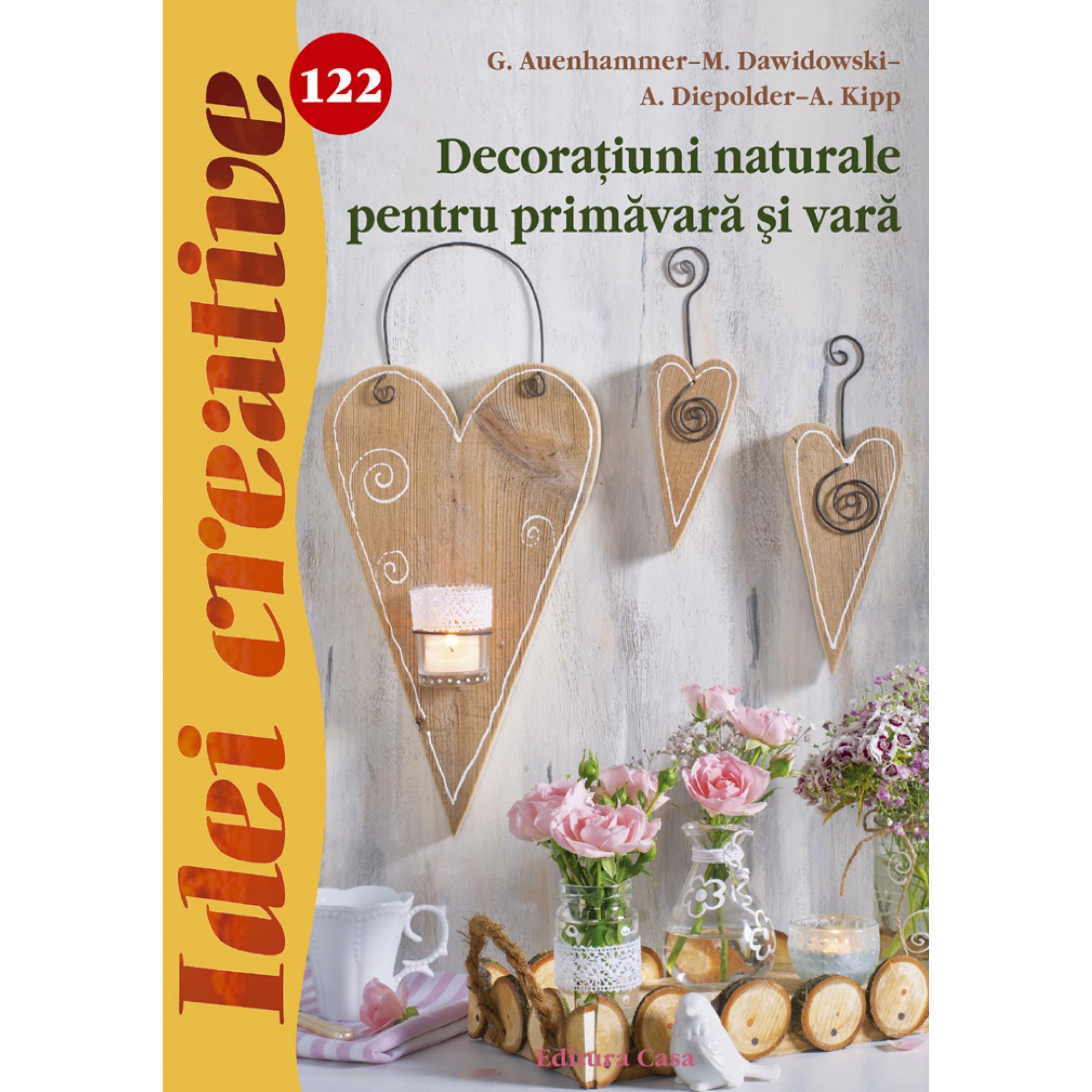 Decoraţiuni naturale pentru primăvară şi vară - Idei creative 122