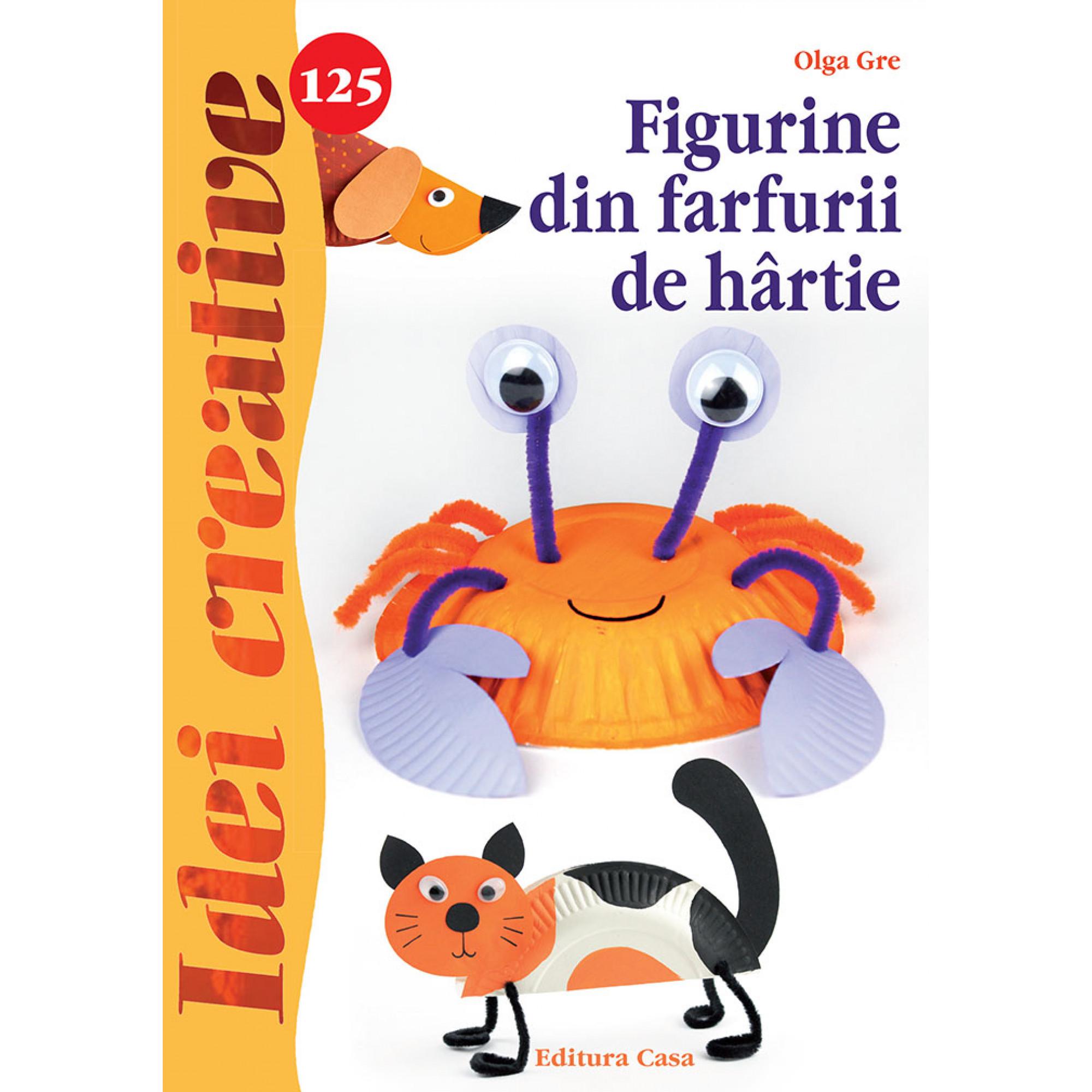 Figurine din farfurii de hârtie