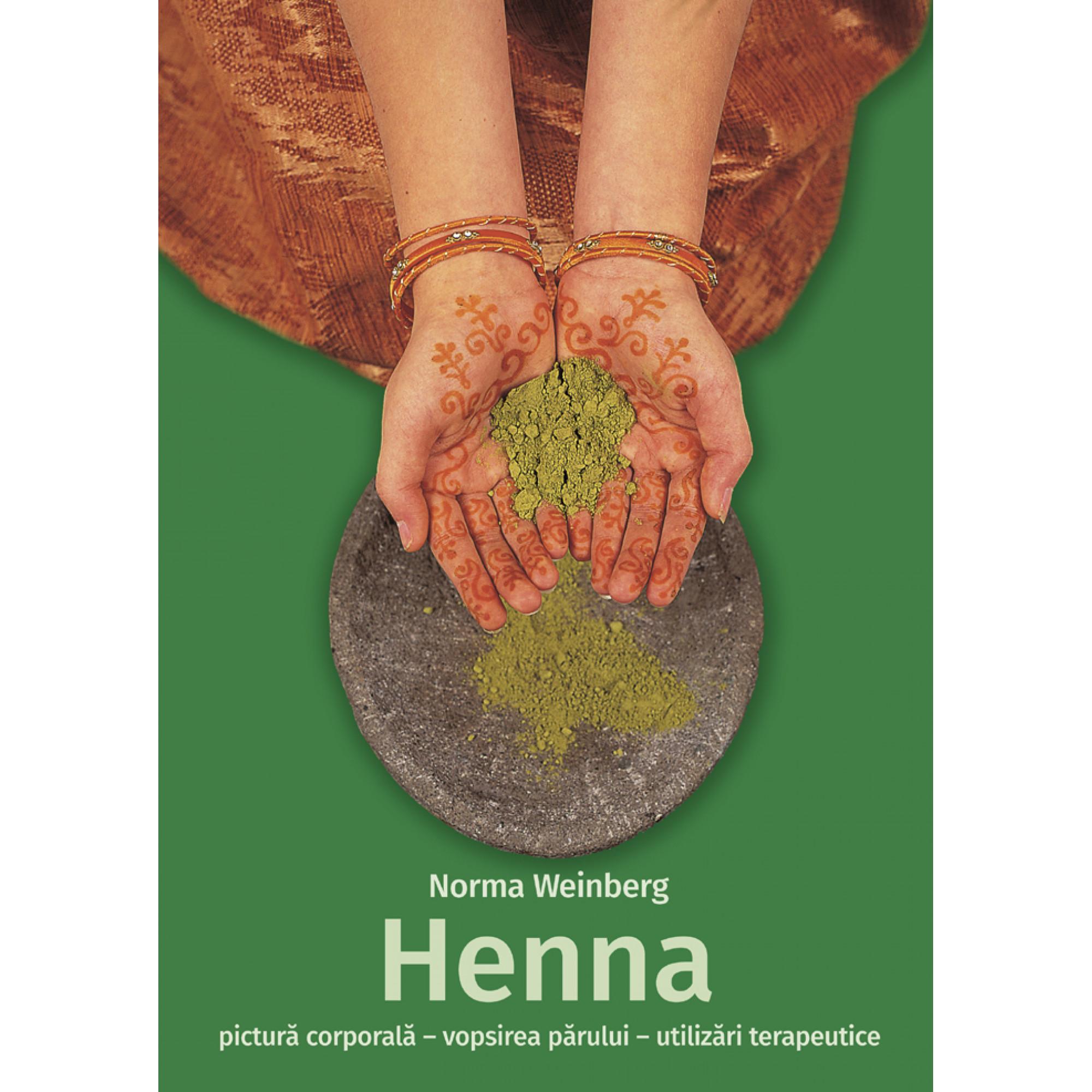 Henna - pictură corporală, vopsirea părului, utilizări terapeutice