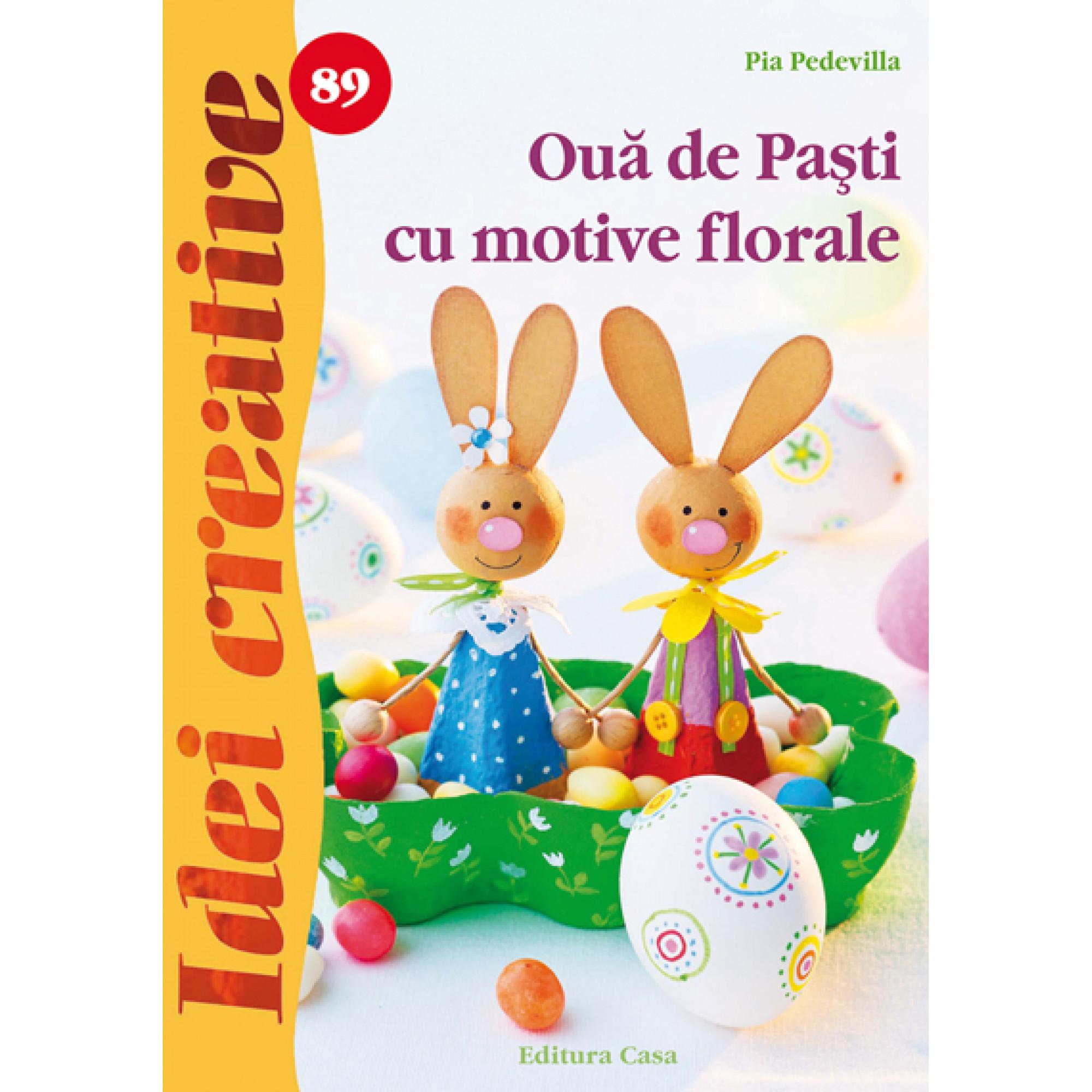 Ouă de Paşti cu motive florale