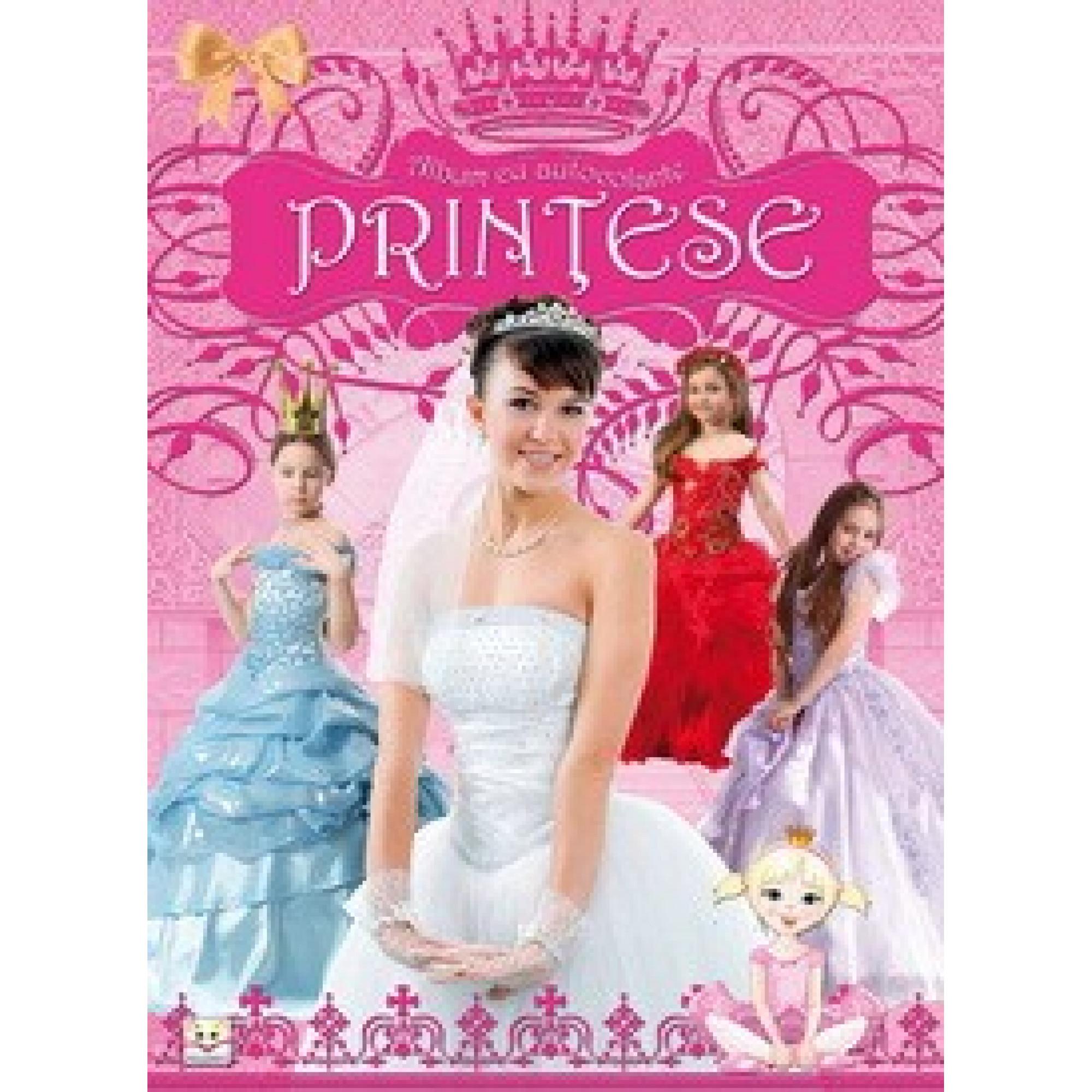 Prințese - Album cu autocolante