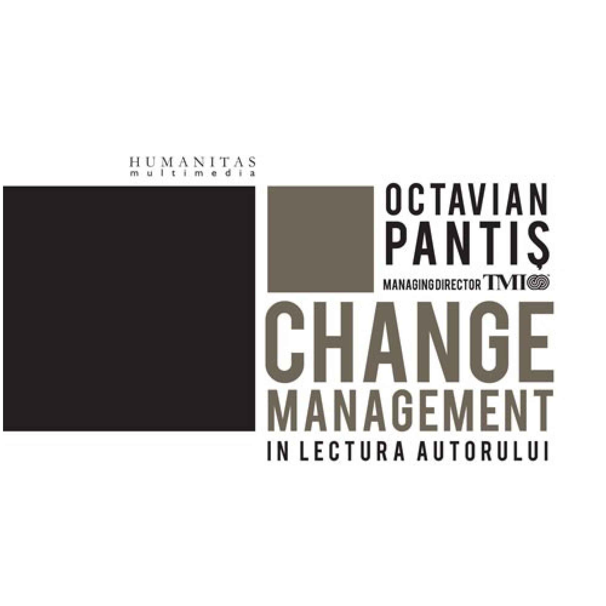 Change Management; Octavian Pantiş