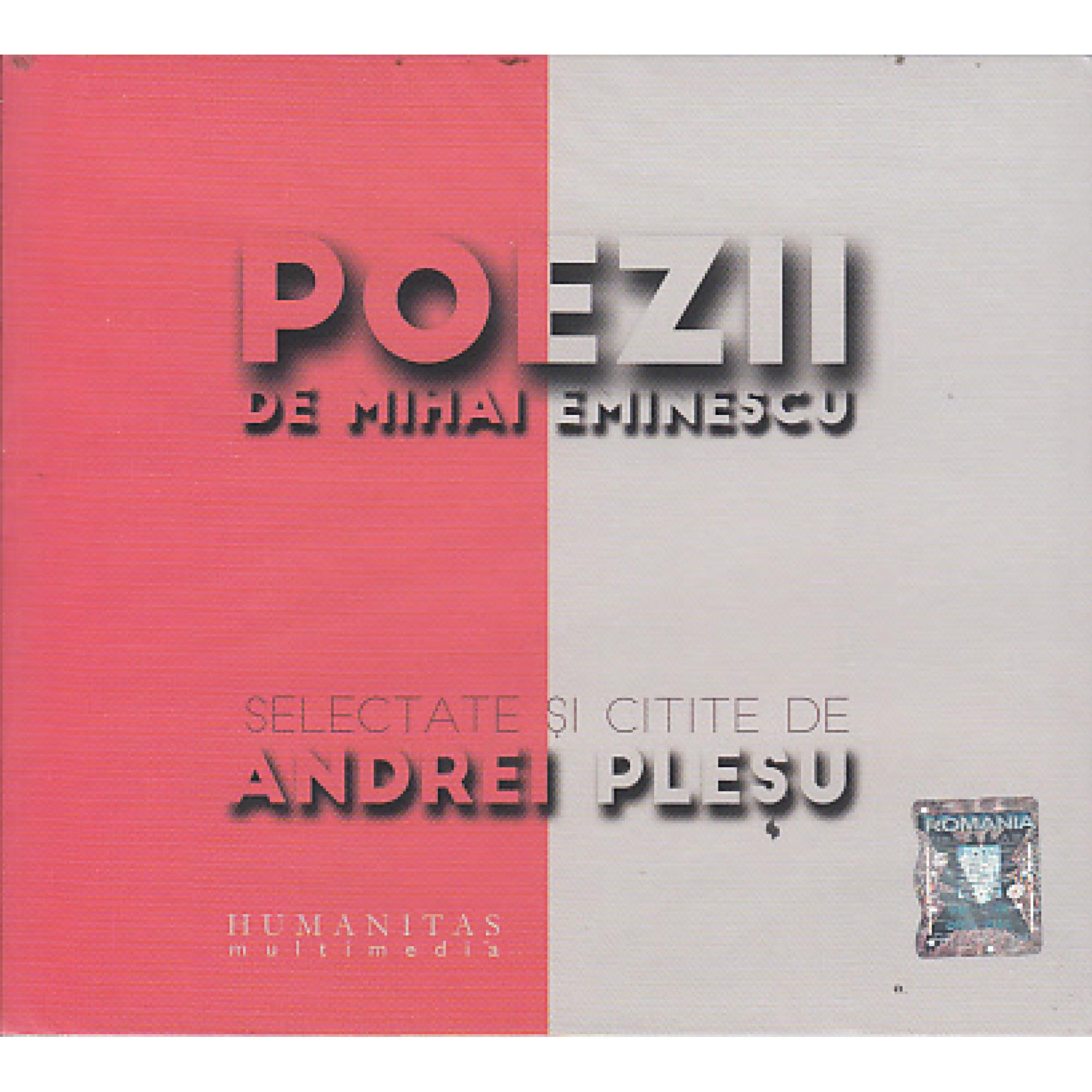 Poezii de Mihai Eminescu, selectate și citite de Andrei Pleșu