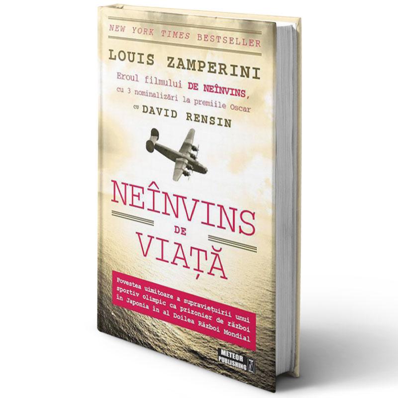 Neînvins de viață; Louis Zamperini și David Rensin