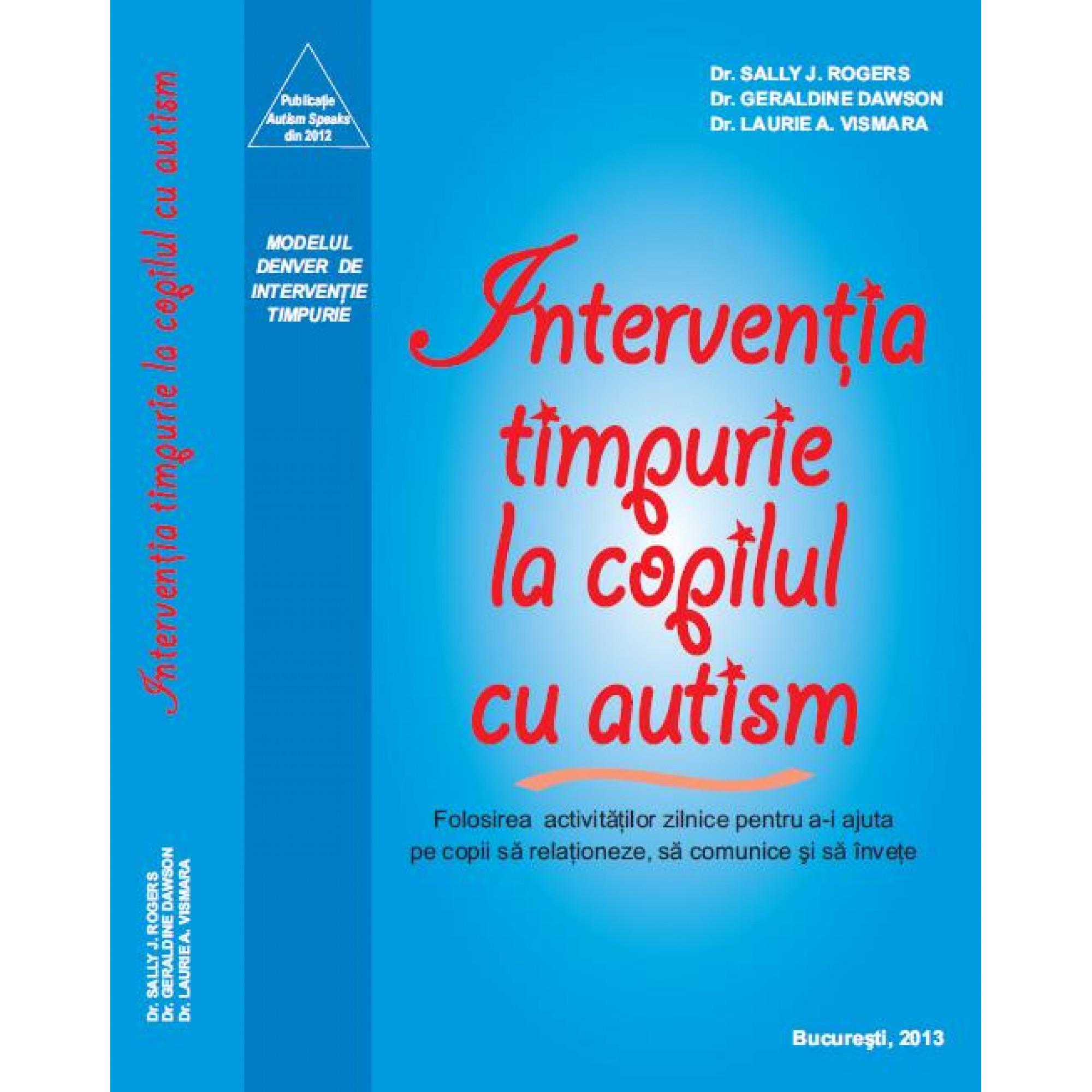 Modelul Denver. Intervenţia timpurie la copilul cu autism