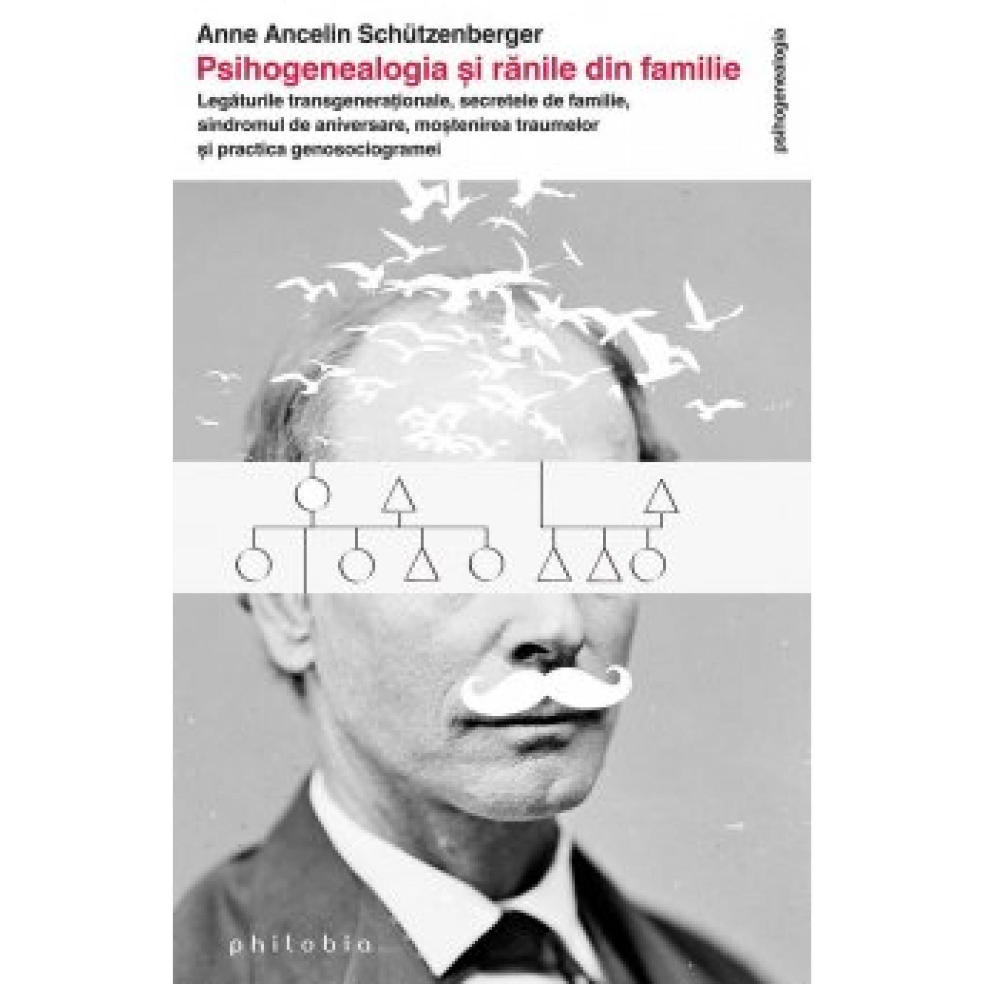 Psihogenealogia și rănile din familie; Anne Ancelin Schützenberger