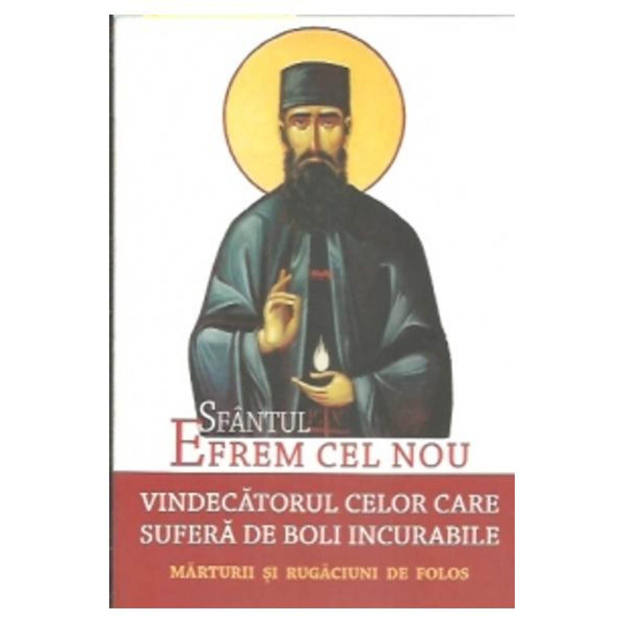 Sfantul Efrem Cel Nou, Vindecatorul Celor Care Sufera De Boli Incurabile; L.S. Desartovici