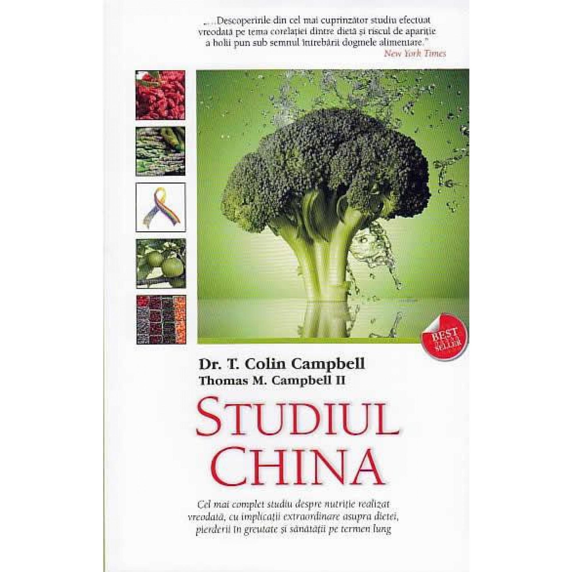 Studiul China; T. Colin Campbell, Thomas M. Campbell II