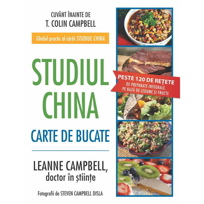 Studiul China - Carte de bucate; LeAnne Campbell