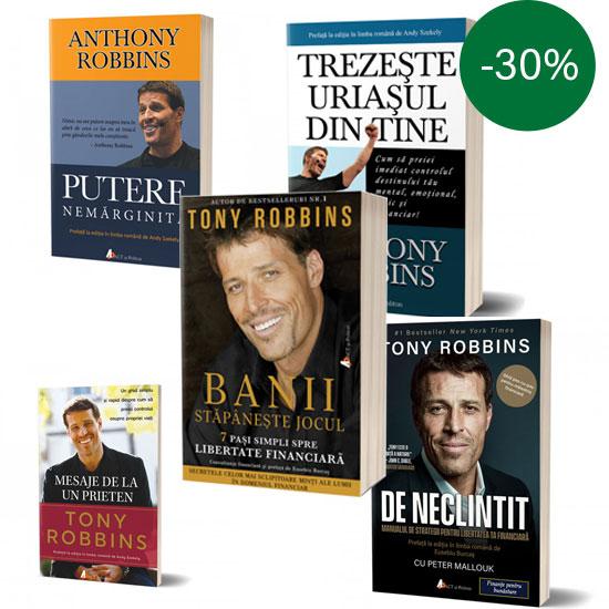 Pachet carti Tony Robbins