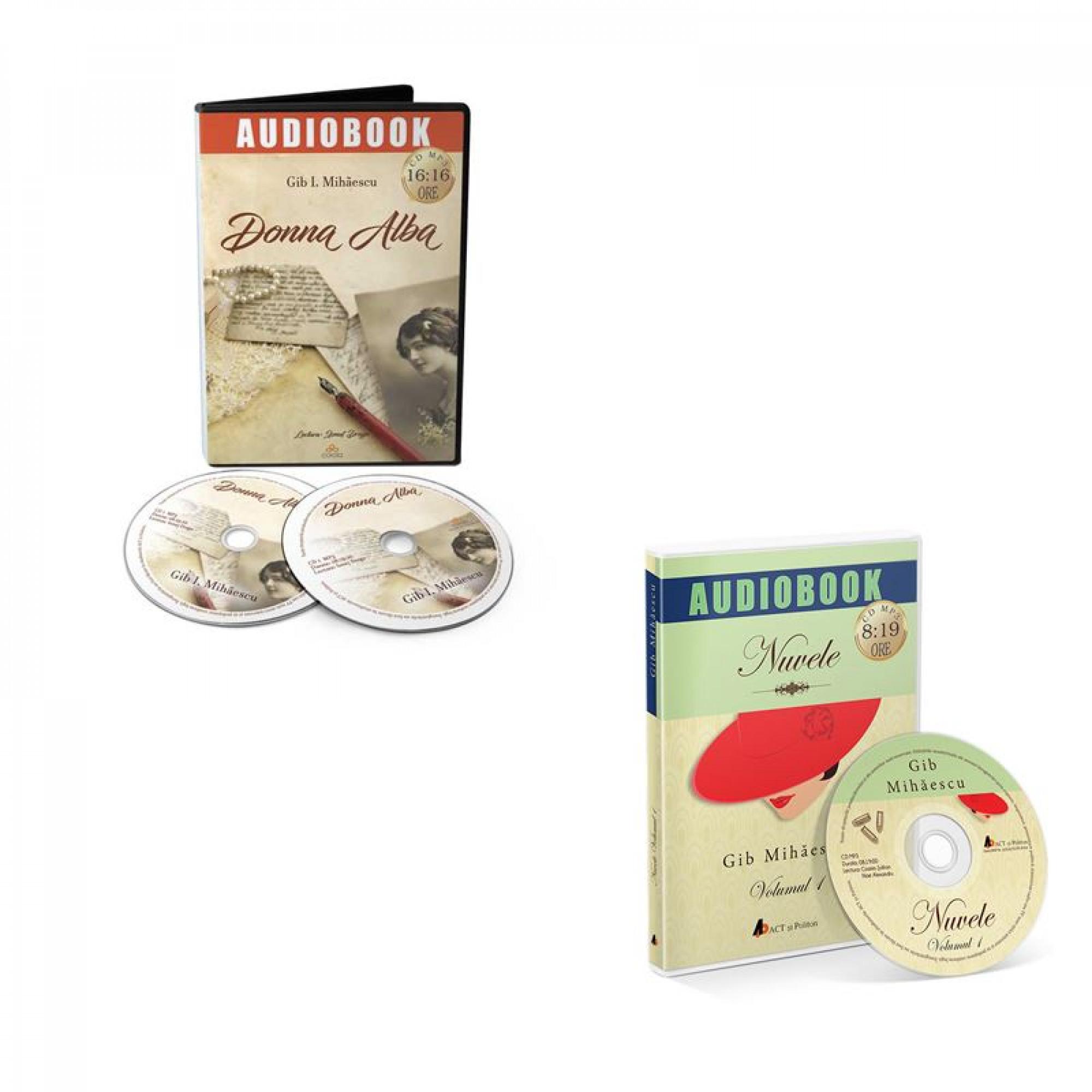 Reducere Gib Mihaescu - audiobook