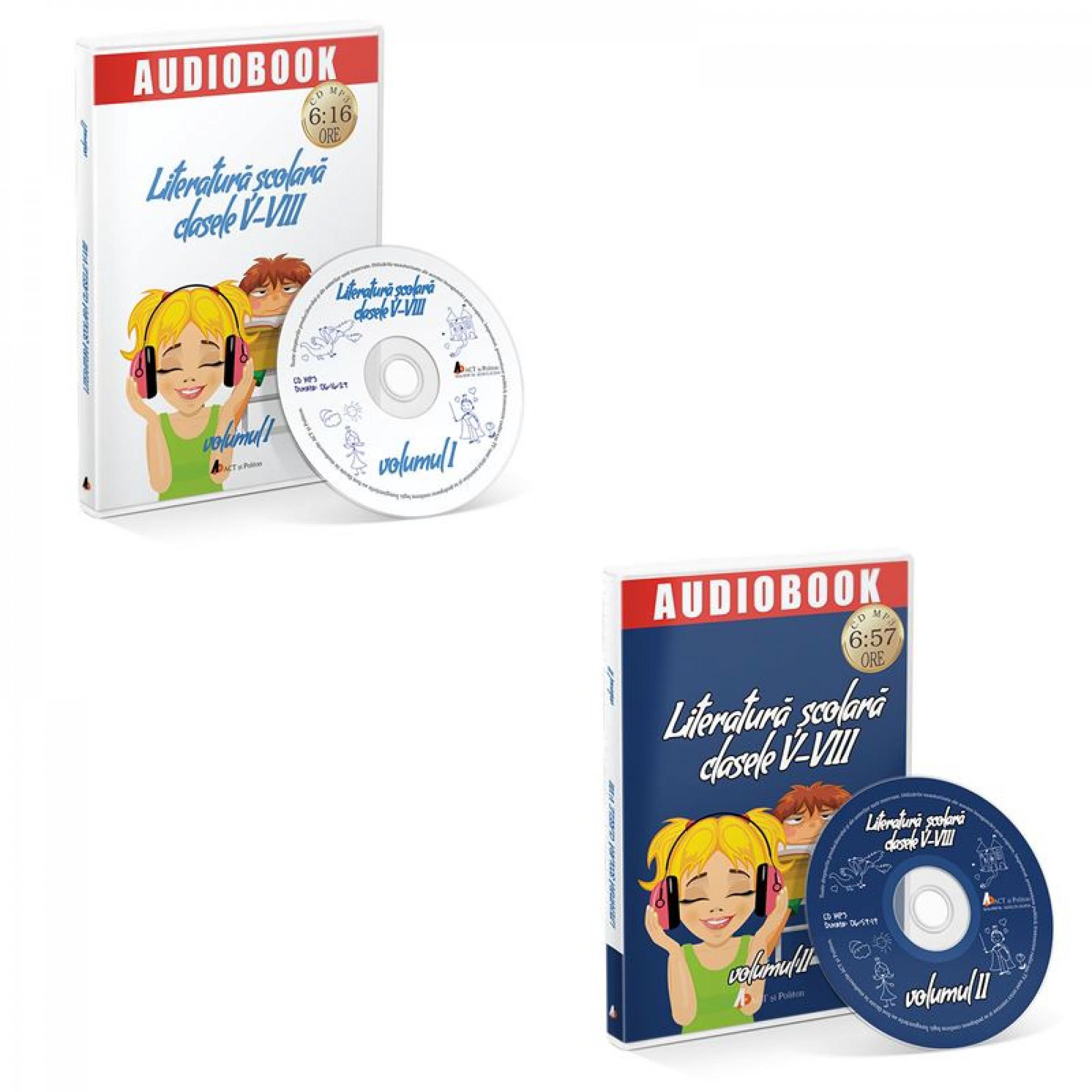 Reducere Literatura scolara - audiobook